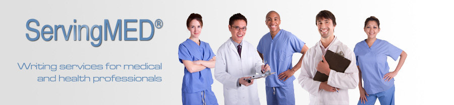 ServingMED: Writing Services for Medical and Health Professionals